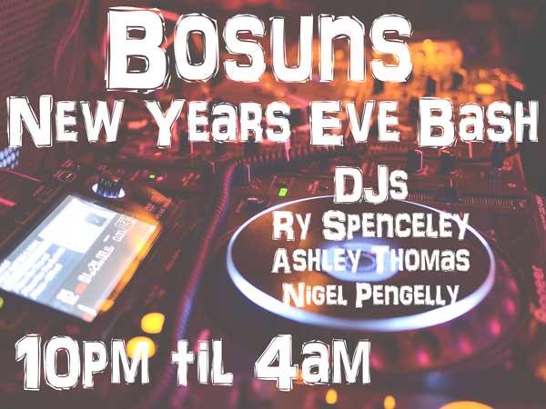 Bosuns New Years Eve Bash Image
